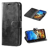 Mulbess Xiaomi Pocophone F1 Case Wallet, Leather Flip Phone