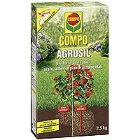 COMPO AGROSIL FERTILIZANTE para CÉSPED árboles y ornamentales plantas DE 2.5 KG