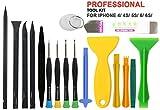 Buyyart 17 in 1Pcs Professional Cell Phone Screwdriver Set Repair Opening Tool Kit