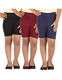 Lula Girl's Spandex Cycling Shorts
