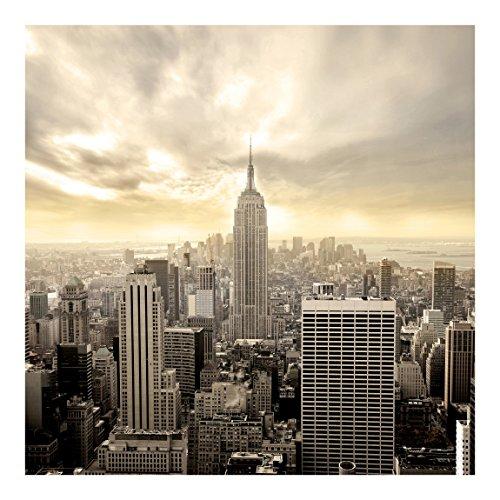 Vliestapete Manhattan Dawn, HxB: 240cm x 240cm