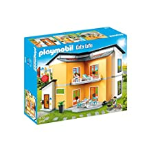 Playmobil City Life 9266 Modern House with Light and Sound Effects for Children Ages 4+