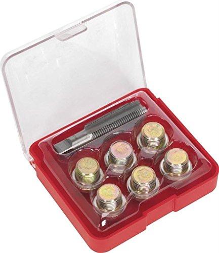 SPTTOOLS kit de pan Outil de réparation de filetage Bouchon de vidange d'huile M20 x 1,5 mm