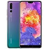 Huawei P20 Pro Smartphone débloqué 4G (Ecran : 6,1 pouces - 128 Go - SIM unique - Android) Violet [Version européenne]
