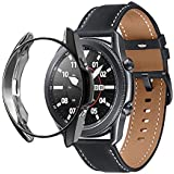 Dado Protective Case For Samsung Galaxy Watch 3 45mm Smart Watches Cover TPU Case protector (Black)