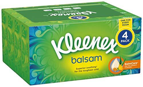 Kleenex Balsam Kosmetikboxen, 72Stück, 4Stück -