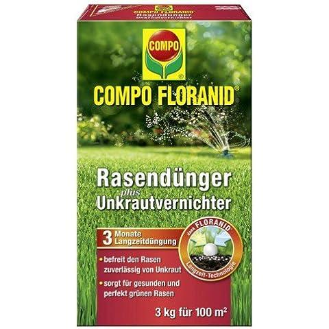 Compo Floranid fertilizzante per prato le erbacce, 3kg