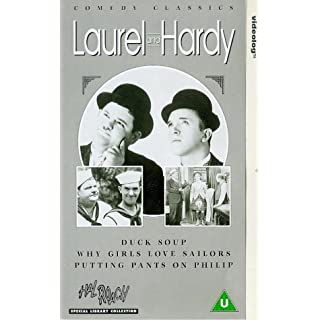 Laurel And Hardy: Duck Soup/Why Girls Love Sailors/Putting Pants [VHS]