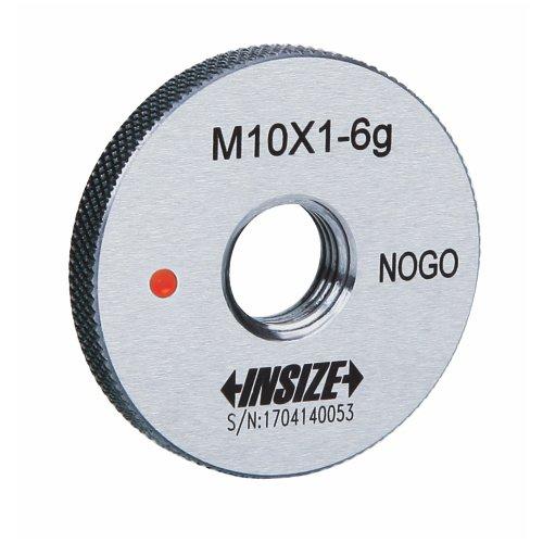 Insize 4129–10ln fein Gewinde Ring Gage, Klasse 6g, nogo, iso1502, M10x 0,75mm