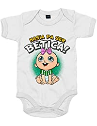 Body bebé nacida para ser Bética Betis fútbol