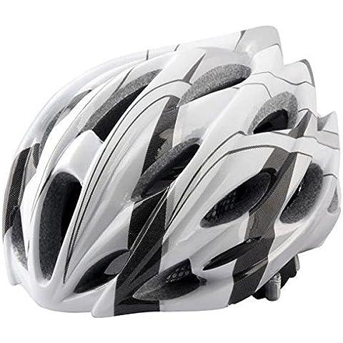 MaMaison007 EPS al aire libre ciclismo equitación casco para bicicleta con redes insectos y 24 ventilación