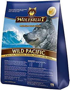 wolfsblut trockenfutter wild pacific 6 sorten fisch kartoffel adult f r hunde 15 0 kg amazon. Black Bedroom Furniture Sets. Home Design Ideas