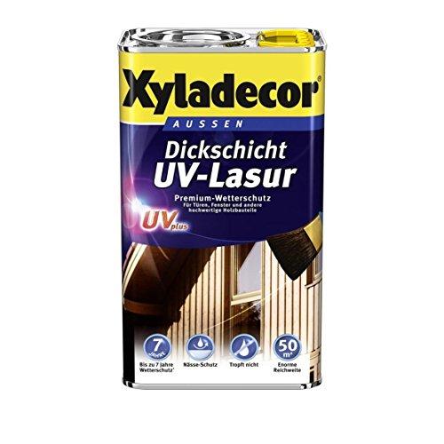 Preisvergleich Produktbild 2, 25 L Xyladecor Dickschicht UV-Lasur plus,  Eiche-hell (3 x750 ml)