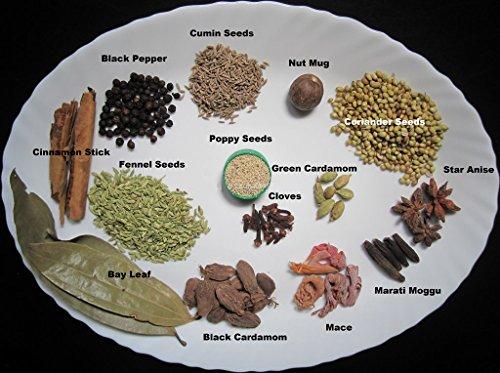 SFT Garam Masala Sabut (Whole Mixture of Spices) [Green Cardamom, Black Cardamom, Cloves, Mace, Jayfal, Cumin Seeds, Dry Ginger, Cinnamon, Pepper Long, Black Pepper, Bay Leaf] Pouch, 250 g