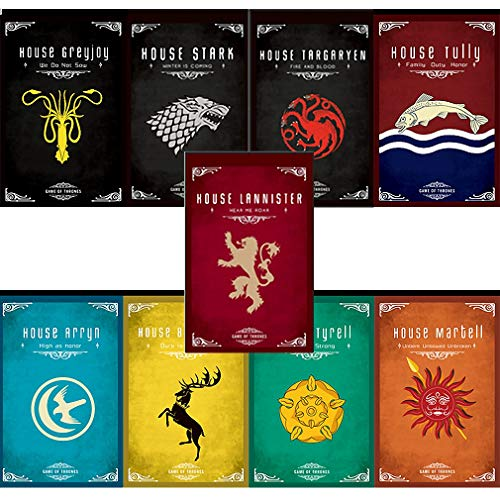 104CM X 68CM  Game of Thrones House Banner Game of Thrones House poster  Tully Flag for Bar House Party Decoration