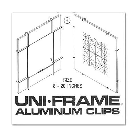 Uni-Cadre en aluminium avec Clips de