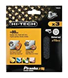 Piranha 240 g Mesh Third Sheet Velcro - Set of 3
