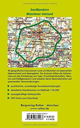 GeoWandern Münchner Umland Alpenvorland und Alpen zwischen Lech und 40 Touren Abbildung 2