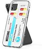 SDAET Moschino Pill Pack Case Cover Compatible for iPhone iPhone (11 PRO Max)