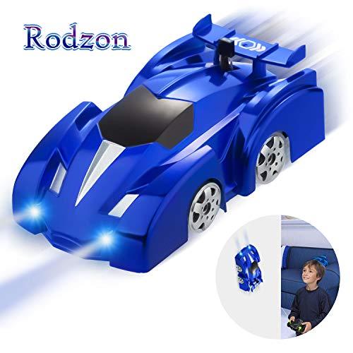 Rodzon Ferngesteuertes Auto Kinderspielzeug Auto mit Fernbedienung Kinder 360 ° Rotating Stunt Wiederaufladbare Hochgeschwindigkeits-Fahrzeug mit LED-Leuchten Jungen Mädchen