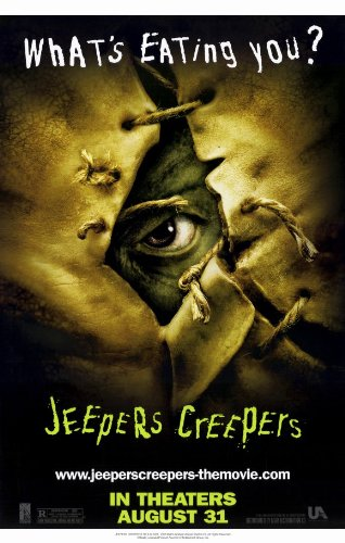 """Jeepers Creepers 27,94 43,18 cm x (11""""), 28 x 17 x 44 cm, motivo: Film Poster"""