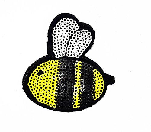 rabana Biene Honig Wild Animal glitzernden Pailletten Glanz -