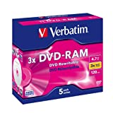 Verbatim DVD-RAM 4.7GB - DVD+RW regrabables