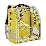 XIAOBAO Haustier Transportbox Transportrucksack,Haustierrucksack, transparent aus der tragbaren Raumfalttasche,Katze Hund Puppy Reisen Tasche
