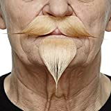 Mustaches Blonder Victor-Emanuel fälschen, selbstklebend Bart
