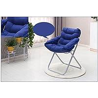 HUANLIN Perezoso sofá Plegable, Ocio Salón Dormitorio Beanbag Silla Plegable Lazy Estudiante compartida único Equipo de sillón reclinable Hostel, Plegable Silla Plegable (Color : B)