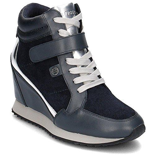 Stivali per le donne, color Blu , marca TOMMY HILFIGER, modelo Stivali Per Le Donne TOMMY HILFIGER RUNNING WEDGE 1C2 Blu