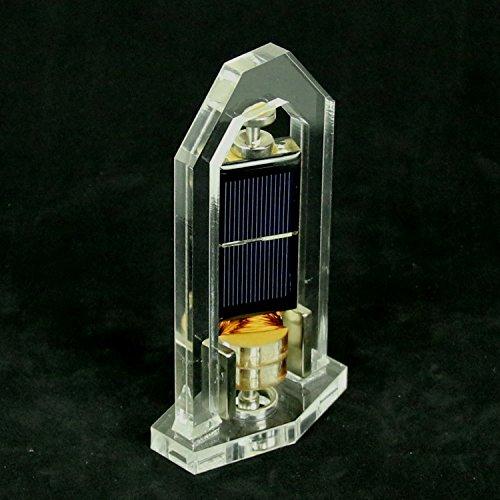 Mendocino 2 Licht (Neu KM31 ( 8cm×4.5cm×15cm) Handarbeit Vertikal Mendocino Motor Solar Levitating Pädagogisches Modell Spielzeug)