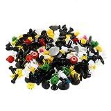 kangql 200PCS universale colore misto borsa clip di fissaggio auto paraurti porta pannello rivetti-Mix color