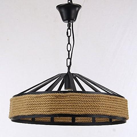 LIVY Creativo Lampadario corda semi-cerchio cappello NET