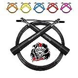 AMZOON Springseil Fitness Springseile Skipping Rope Crossfit Erwachsene Sprungseil Tennis Sprungseil