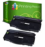Printing Pleasure 2 Toner kompatibel für Lexmark E120 E120N - Schwarz, hohe Kapazität