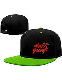 Daft Punk Electronic Duo Logo Unisex Adjustable Sunscreen Trucker Hat Hip-Hop Caps