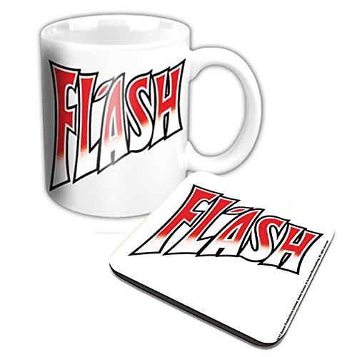 Queen Kaffeetasse and Untersetzer Flash Nue offiziell Gift ()