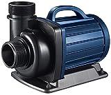 AquaForte Dm-10000 Filter-/Teichpumpe, 12-V, 58 W, 10 m³/h, Förderhöhe 5 m