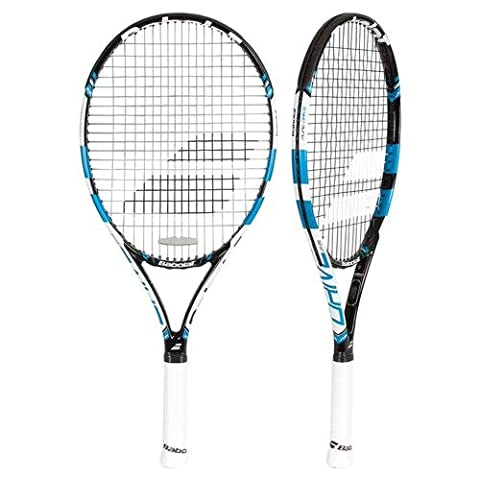 BABOLAT Pure Drive Junior 25 Tennis Rackets, Unisex Children, Pure Drive Junior 25, Black / Blue, 00