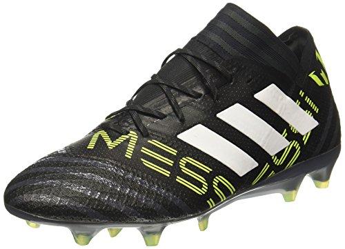 adidas Herren Nemeziz Messi 17.1 FG Fußballschuhe schwarz/Neongelb, 44 2/3 EU