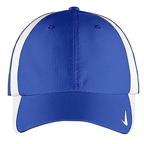 Authentique Nike Sphere Dry rapide Swoosh Profil bas réglable brodé - Cap Blanc ROYAL