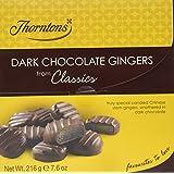 Thorntons Classics Dark Chocolate Gingers 216 g
