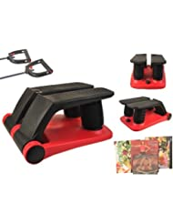 2015 New Air Stepper Climber Exercise Fitness Thigh Machine W/DVD Resistant Cord by Goplus
