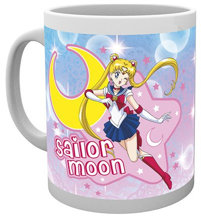Set: Sailor Moon, I Am Sailor Moon, Champion Of Justice Tazza Da Caffè Mug (9x8 cm) e 1 Sticker sorpresa 1art1®
