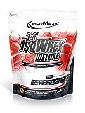 IronMaxx 1:1 IsoWhey Deluxe Weiße Schokolade – Mehrkomponenten Proteinpulver aus Whey Isolat & Whey Konzentrat – 1 x 2,35kg