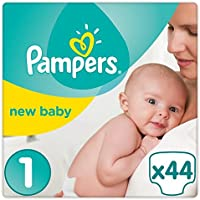 Pampers New Baby Taille 1 Essential Lot de 44 couches