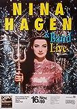 HAGEN, NINA - 1989 - Konzertplakat - In Concert -