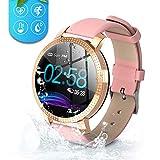 Byttron Fitness Watch for Women, Fitness Tracker Touch Screen Smartwatch IP68 Waterproof Smart