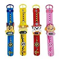 Paw Patrol Unisex kinderen digitaal horloge met plastic armband 1512039
